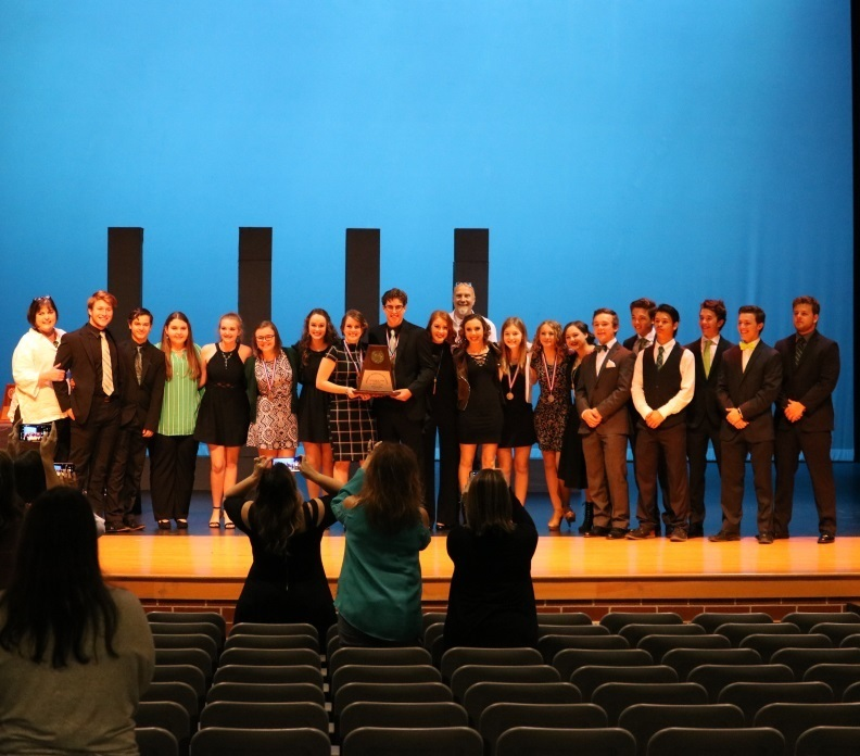 QHS One Act Play Advances to Area Competition