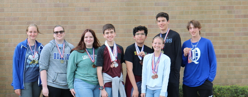 Results from District UIL Academic Meet