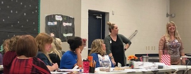 QISD Hosts The Writing Academy