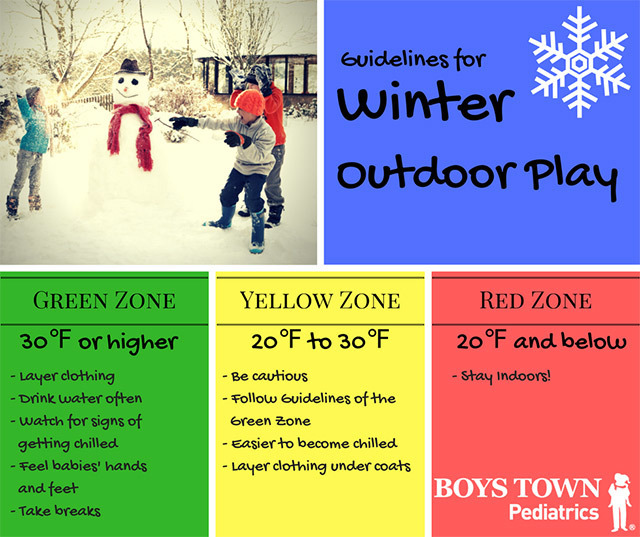A Guide for Winter Outdoor Play