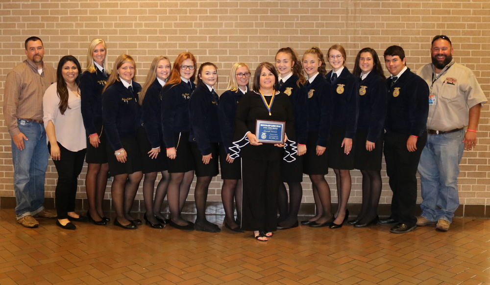 Superintendent Turner Awarded Honorary Lone Star FFA Degree
