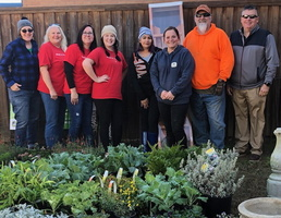 Lowe's Of Lindale Donates Supplies and Labor for QES Garden Project