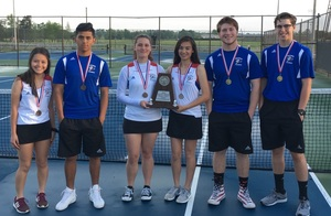 Results From District Tennis Tournament