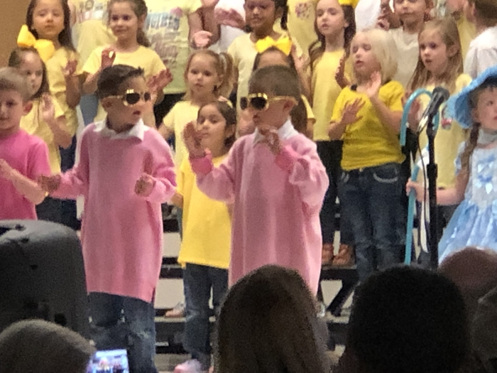 Kindergarten Music program rocked the house Tuesday night!