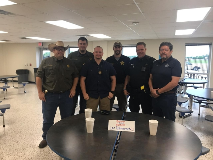 Quitman Policeman are honored by QISD