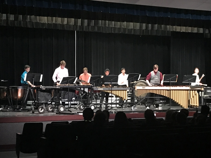 1st annual Night of Percussion was outstanding. Great job Mr. Cheek and all our percussion members.