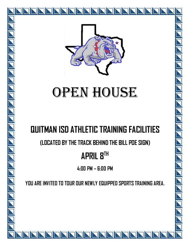 QISD Athletic Training Facilities Open House